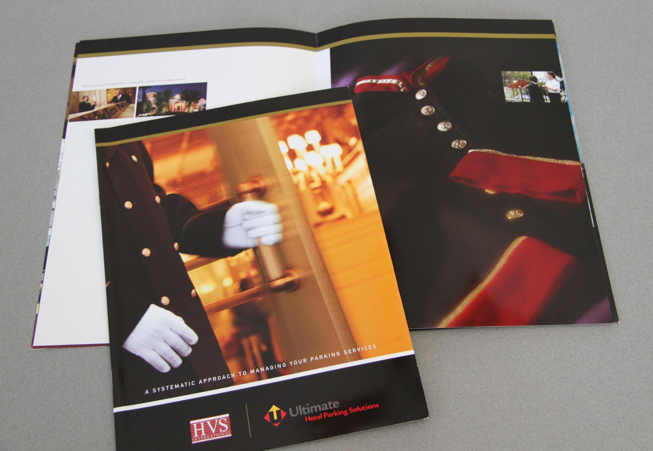 Ultimate Parking Corporate Brochure/Folder