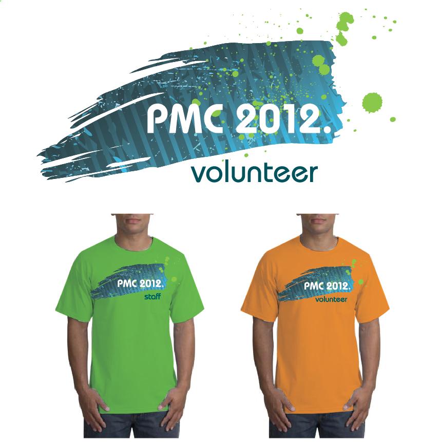 PMC 2012 Volunteer Shirts & Logo