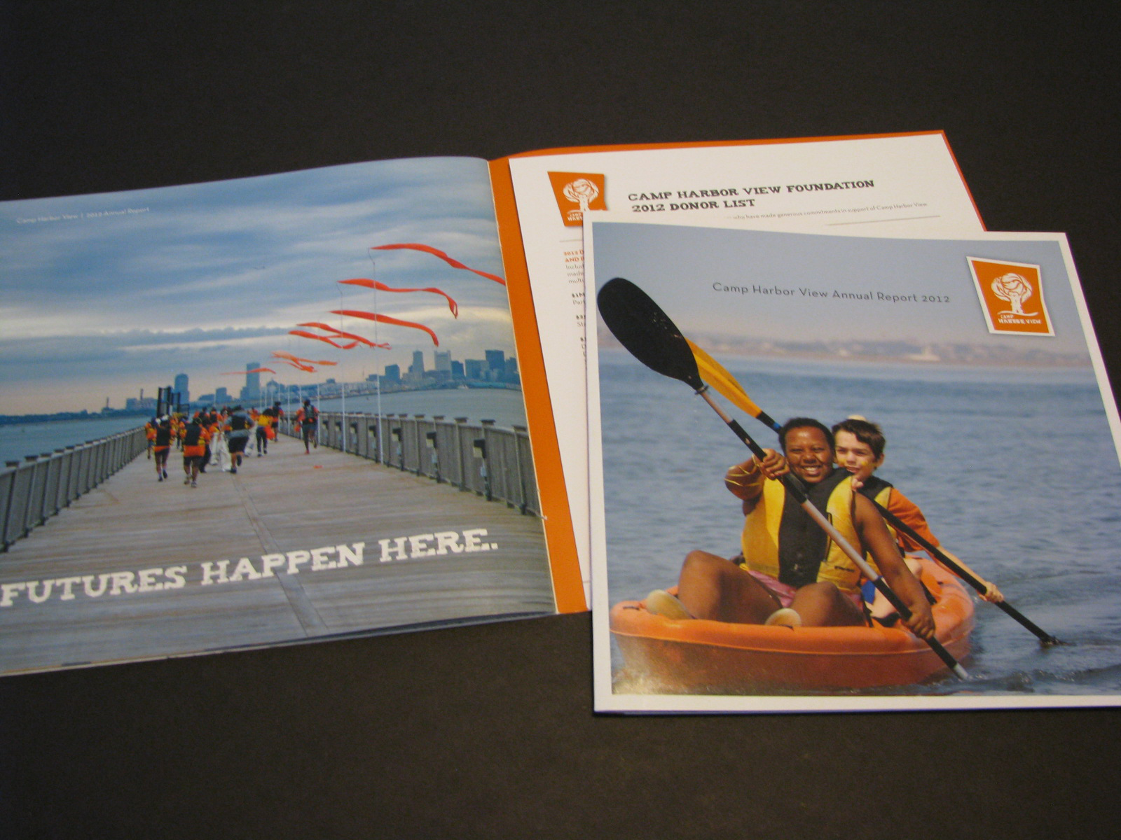 2012 Camp Harbor View Annual Report