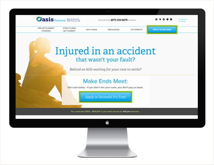 - Visit Oasis Financial at: