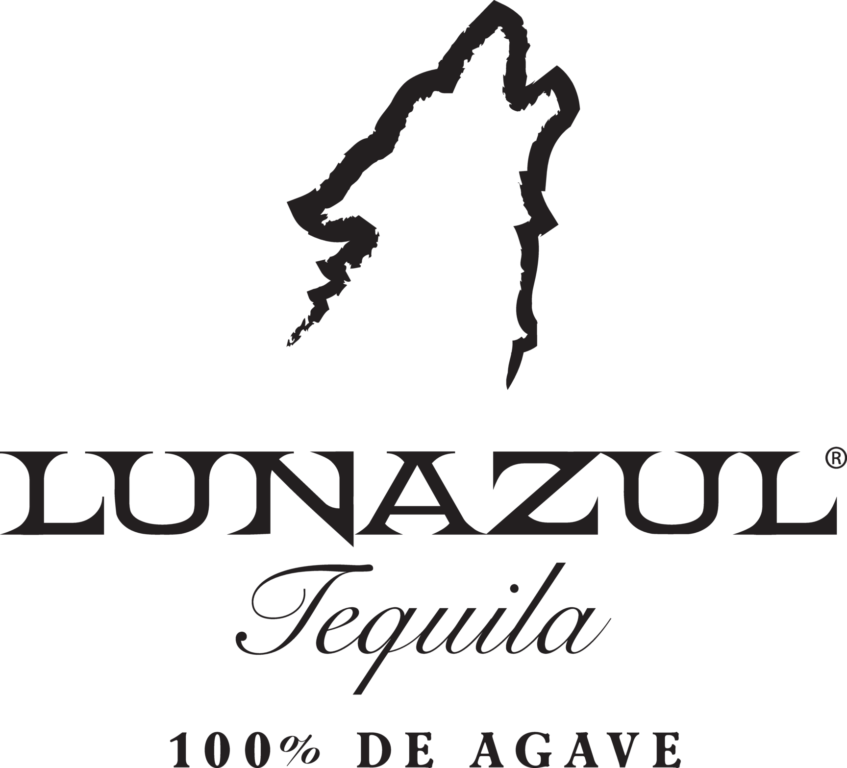 LZ_DistressedWolf_Logo_Lockup_Agave_Black - James Palumbo.png