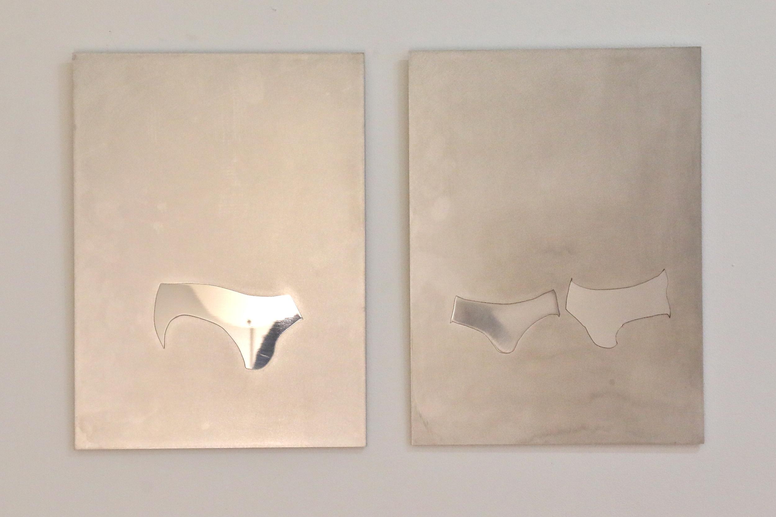 'Untitled (Calvin Klein underwear model series) #1 & #2'