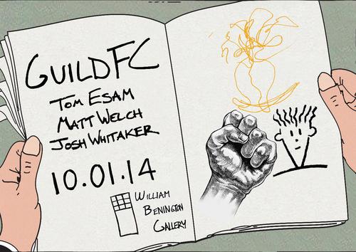 10TH JANUARY 2014 - 13TH FEBRUARY 2014 - GUILD FC - JOSH WHITAKER, MATT WELCH & TOM ESAM