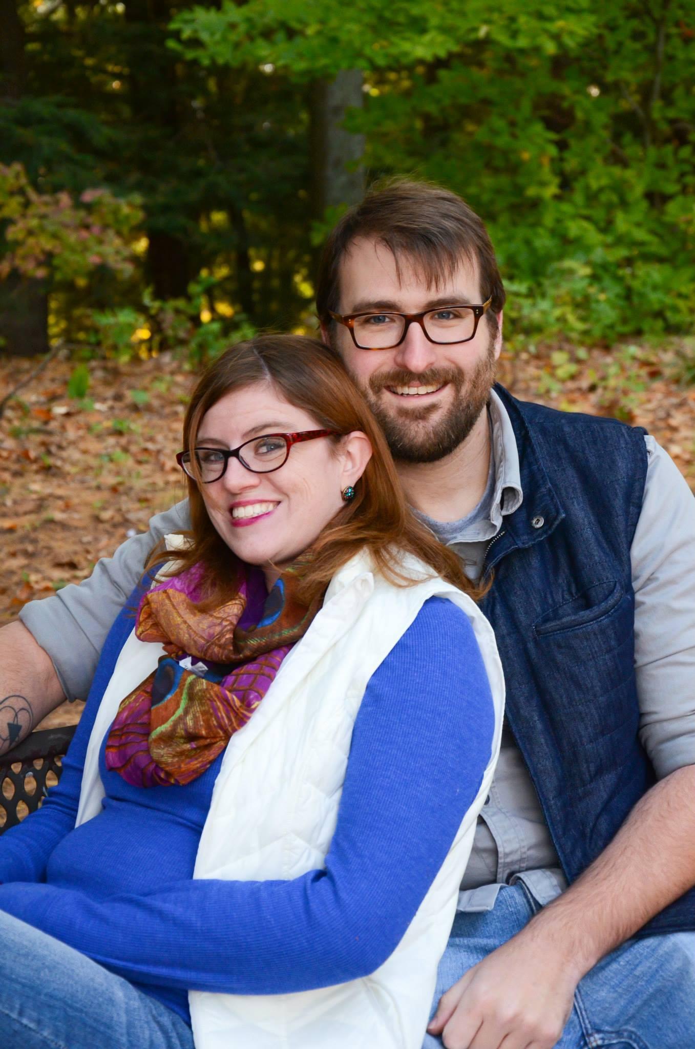 Guest Blogger Kyle Kiekintveld (with his fiancé Jessica Poel)