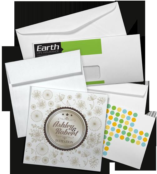 Envelopes Edge Bleed