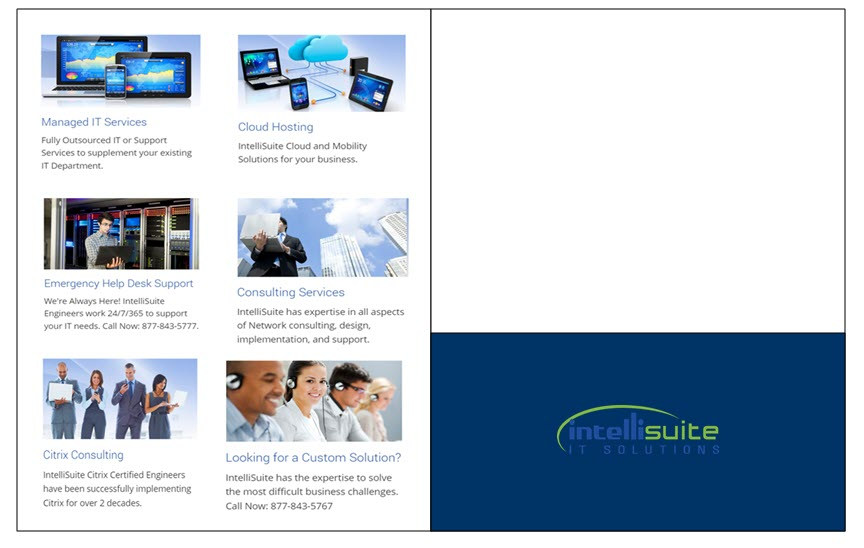 Brochure Folder