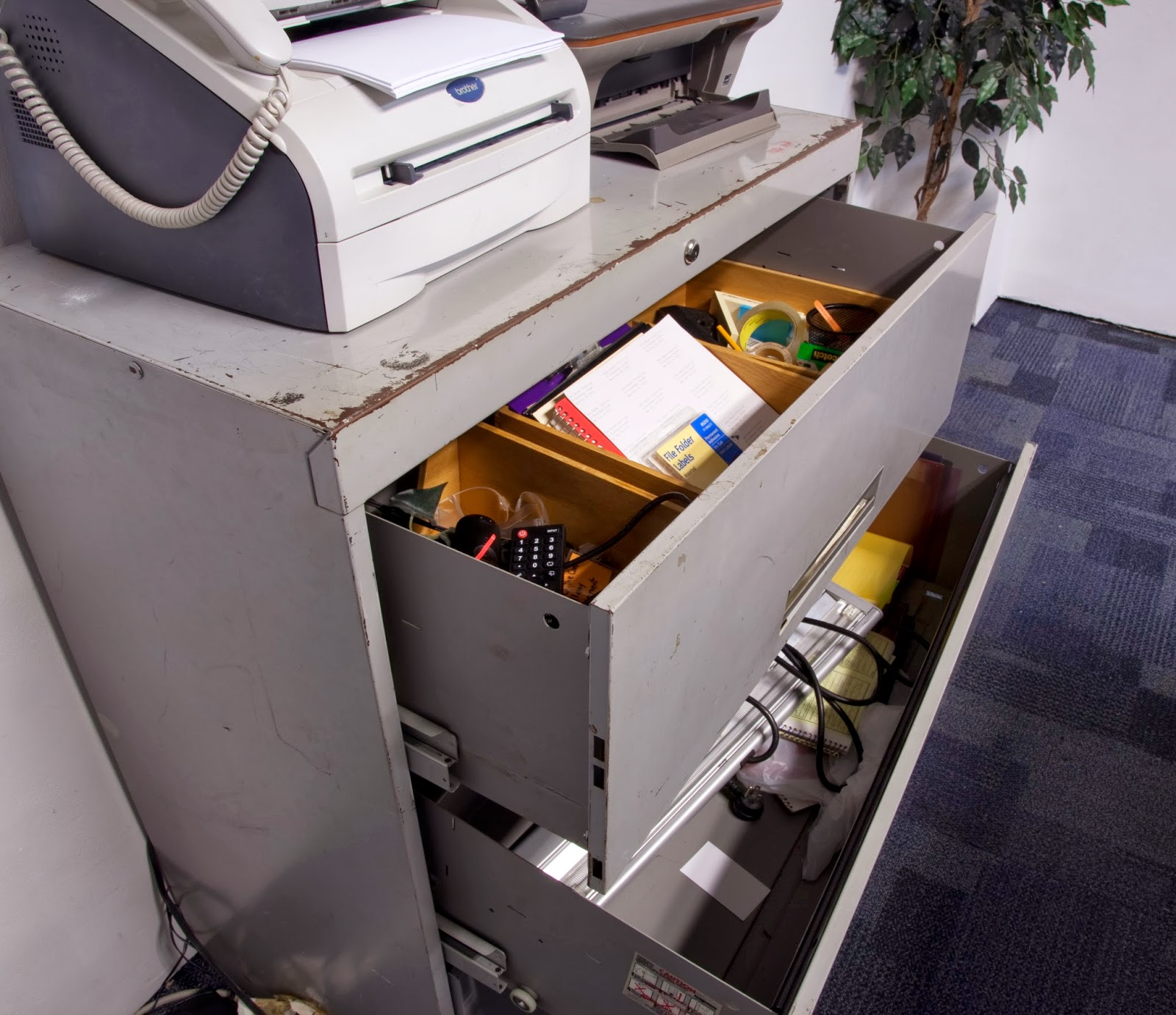 Filing Cabinet Contents