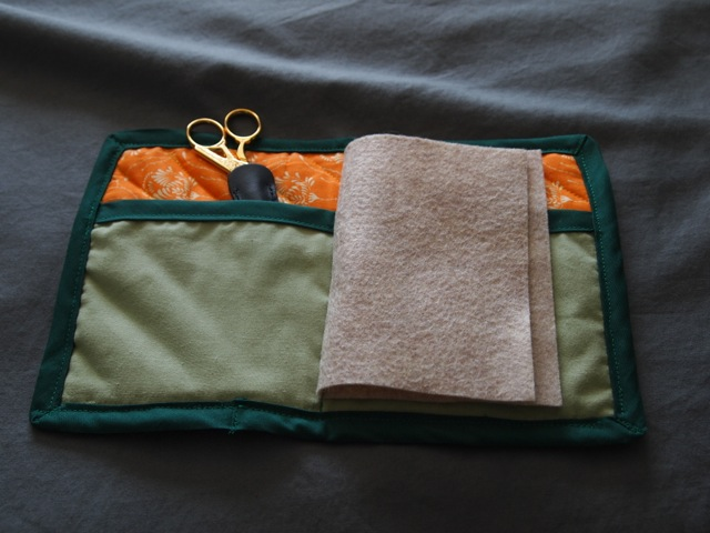 embroidery case - inside
