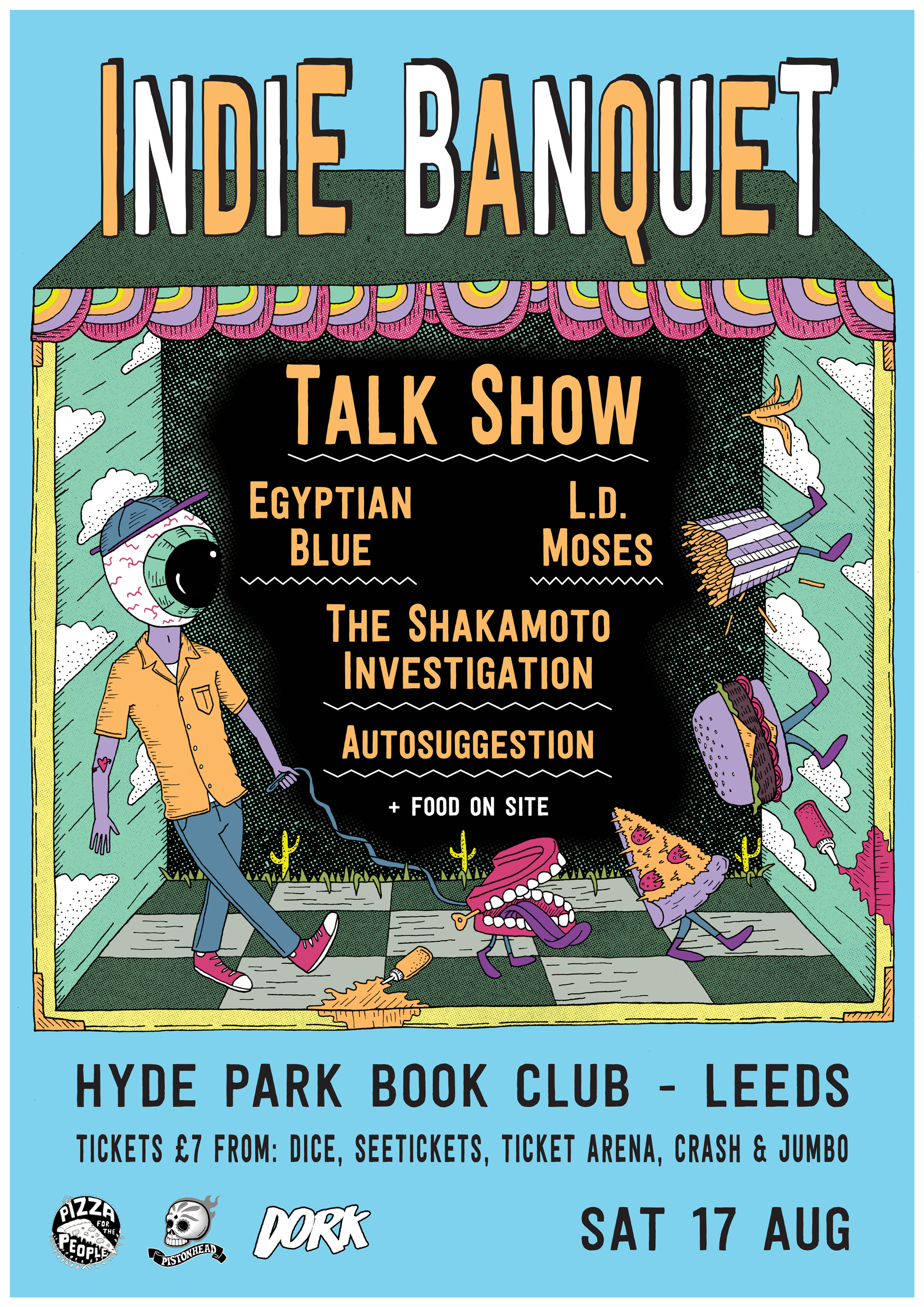 Gig Poster: Indie Banquet