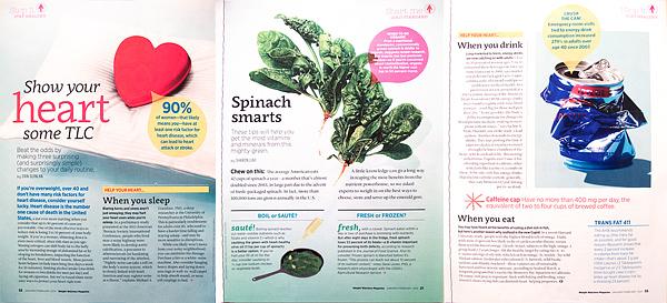 Weight Watchers Magazine. Jan/Feb 2014 issue