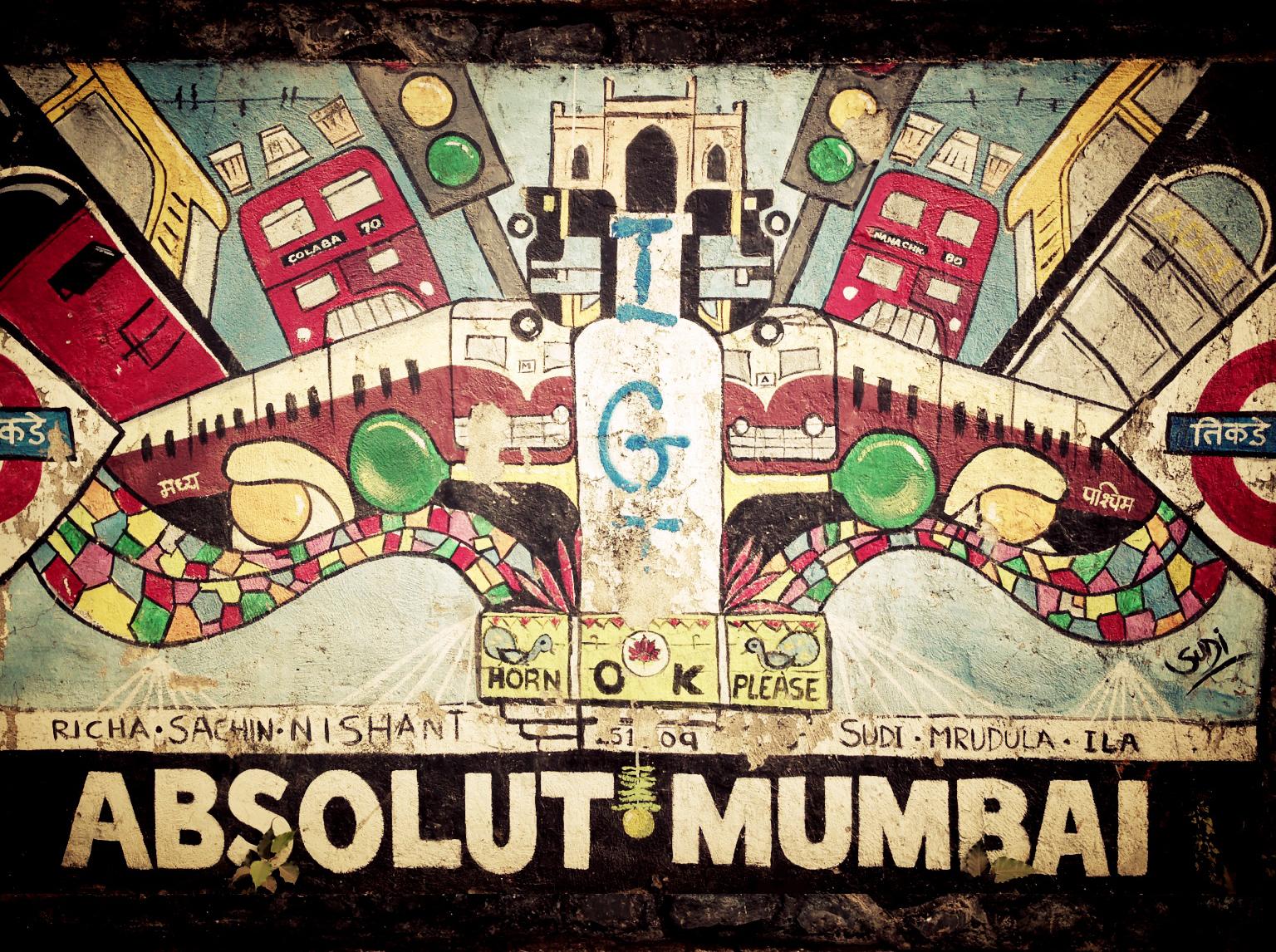 The wall project - Mumbai
