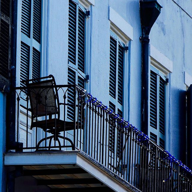 Blue Balconies  _ _ _ _ _ _ _ _ _ _ _ _ _ #instatravel #trip #beautiful #travelgram #instapassport #instago #flashesofdelight #mytinyatlas #unlimitedparadise #dametraveler #outdoors #explore #life #vacation #instagood #igtravel #holiday #vacationwolf #passionpassport #mobilephotography #shotoniphone #neverstopexploring #hsdailyfeature #lifeofadventure #watchthisinstagood #explore #architect #instaarchitecture #architecture #french #nola