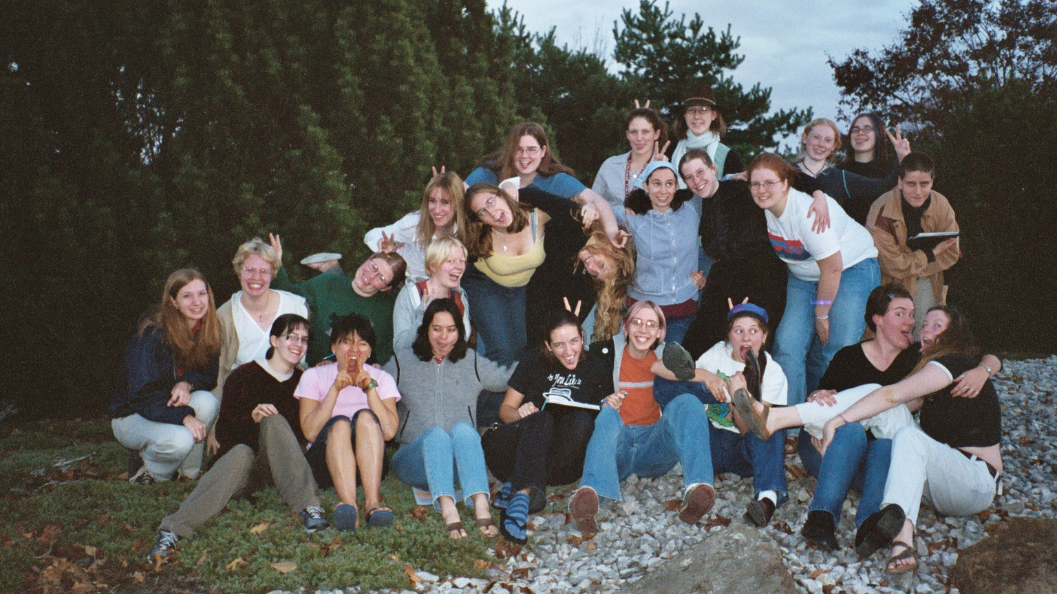 above: Earlham College Women's Chorus, Fall 2003  right: Transylvania University Choir, Fall 2014