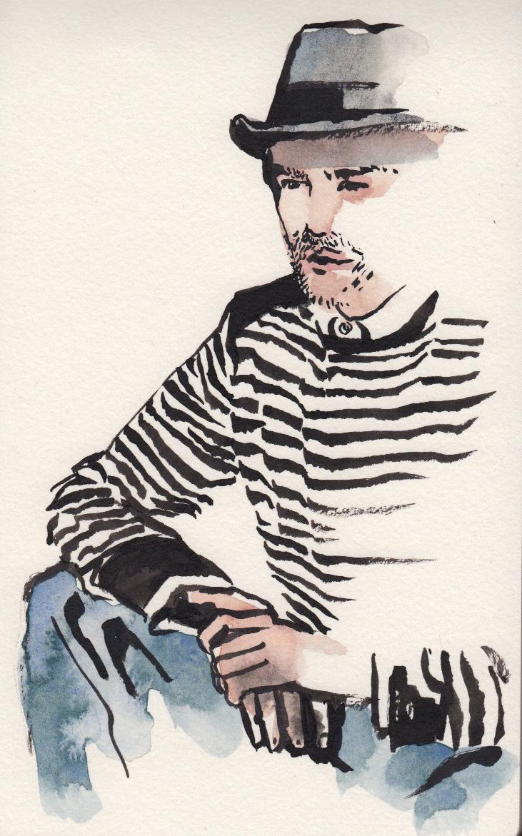 daily fashion 7 men's fashion illustration