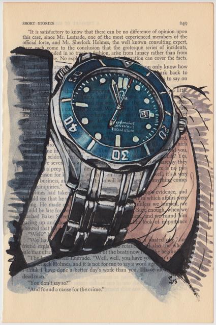 florian pabel- omega seamaster professional 300M chronometer- james bond blue.jpg