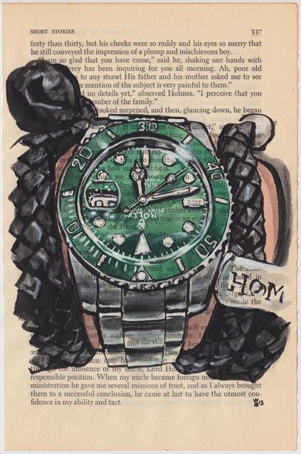 Rodolfo Suro- Rolex Submariner Green Dial and Bezel.jpg