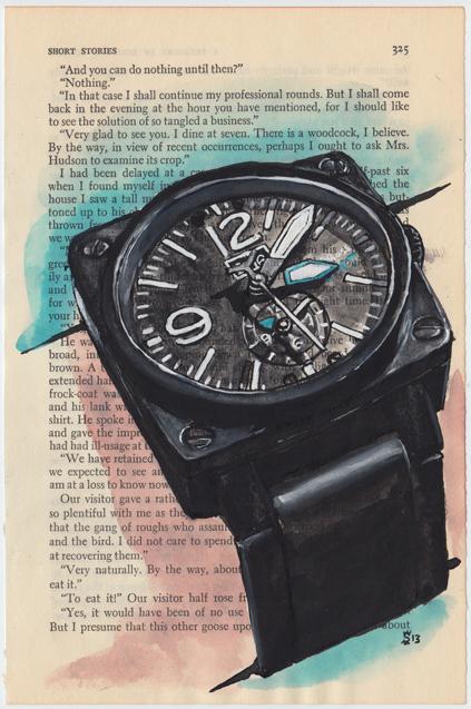 Simon Cudd:Bell Ross- Ltd Ed GMT for The Watch Gallery 2.jpg