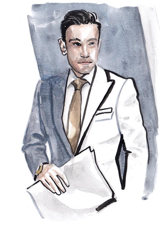 Daily Fashion Illustration 145, Mehmet