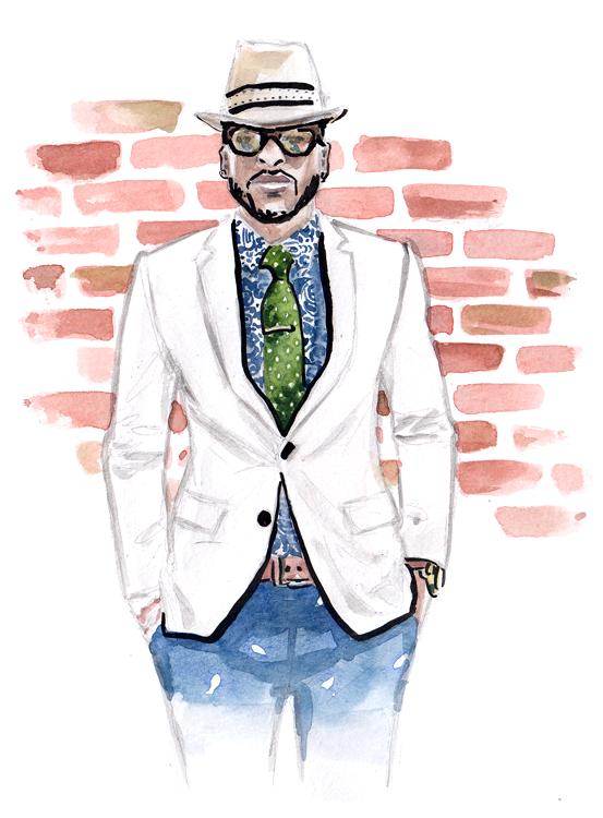 Daily Fashion Illustration 146, Franck Mille