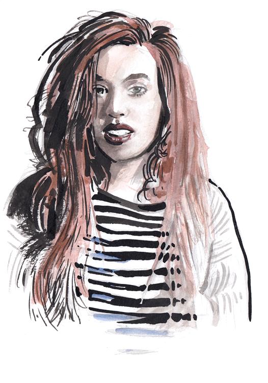 Daily Fashion Illustration 147, Alix Freeman