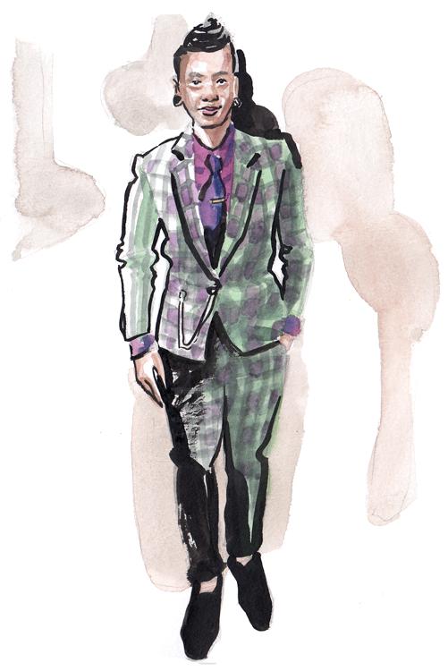 Daily Fashion Illustration 169, Kim Ly