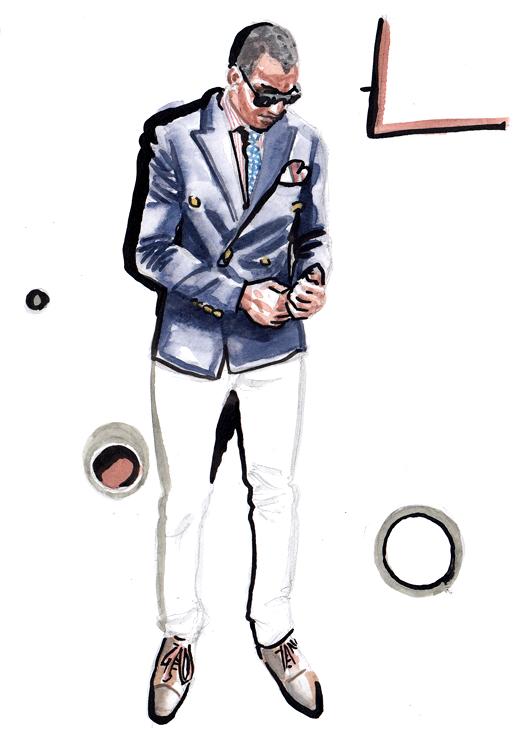 Daily Fashion Illustration 173, Edison Gonzalon
