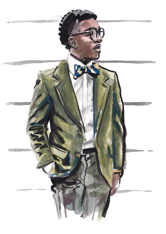 Daily Fashion Illustration 175, Anthony Stephens