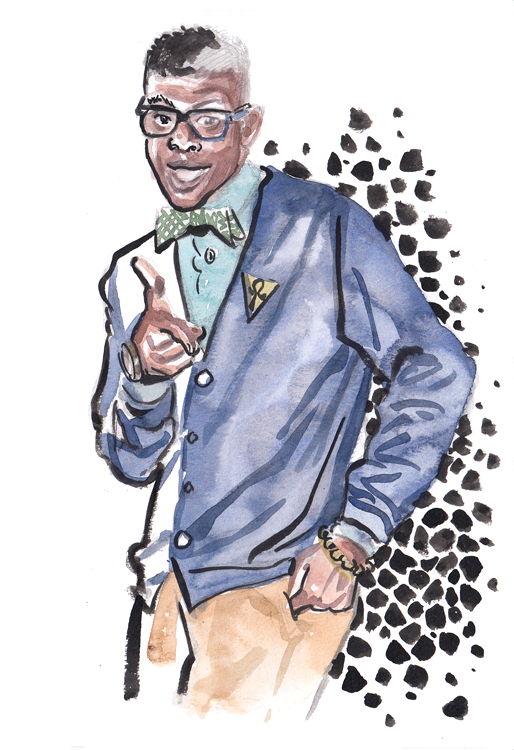 Daily Fashion Illustration 178, Aaron Kirk