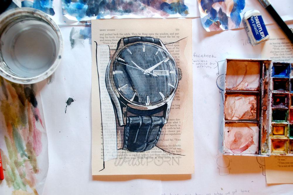 Tissot Visodate Painting Process 4