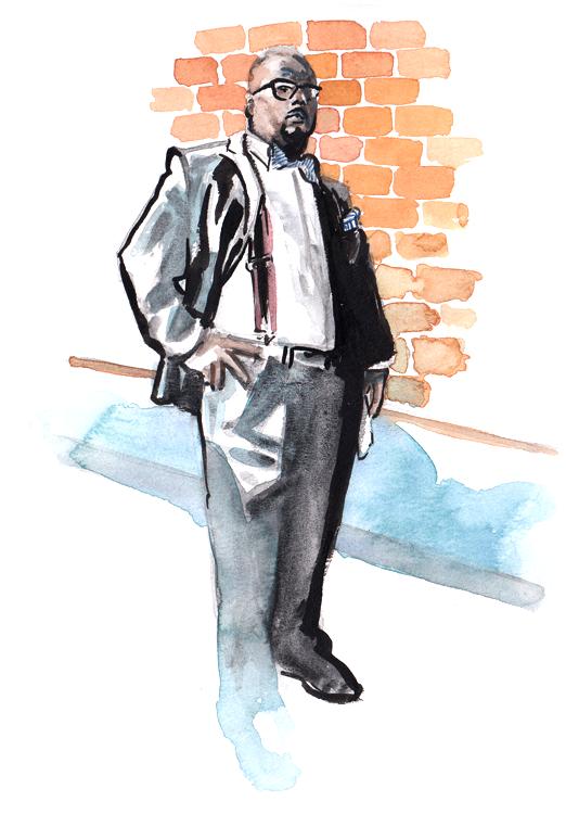 Daily Fashion Illustration 180, Brian Simpson