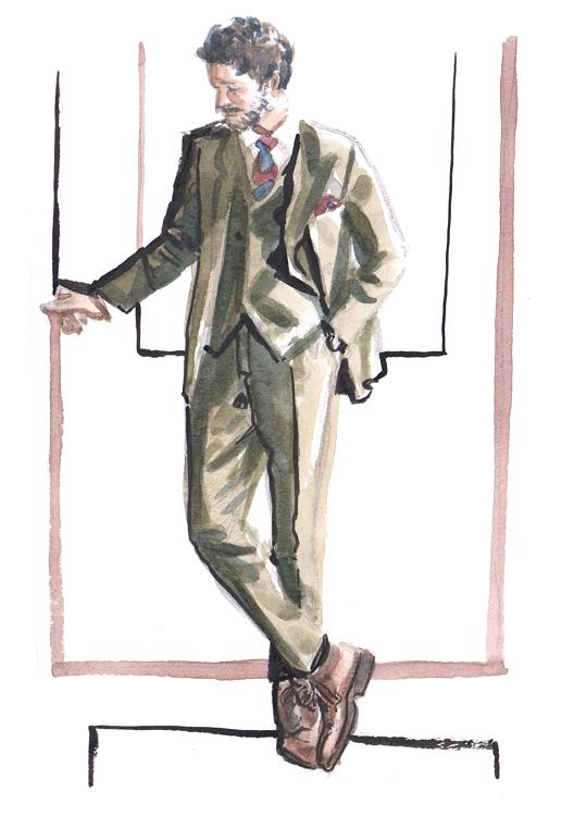 Daily Fashion Illustration 181, Erik Mannby