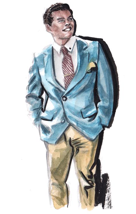 Daily Fashion Illustration 182, Juan Cortez