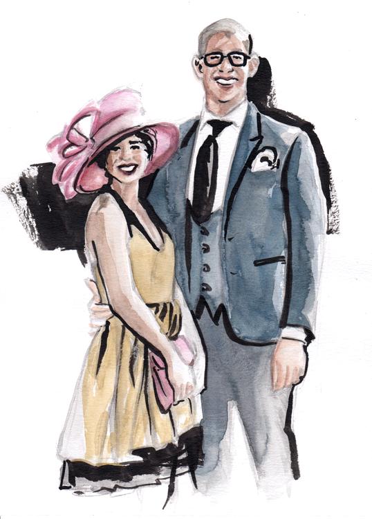 Daily Fashion Illustration 185, Tyrelle Correa