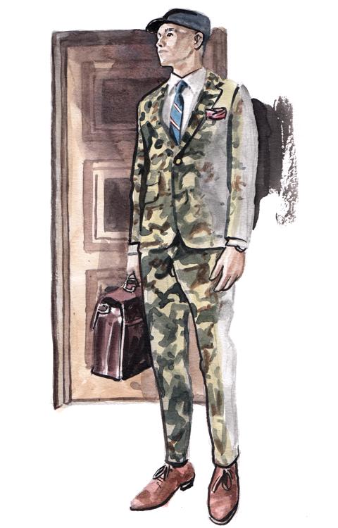 Daily Fashion Illustration 186, Wisith Jiengwattana