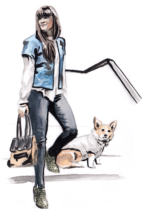 Daily Fashion Illustration 190, Cara Kovacs