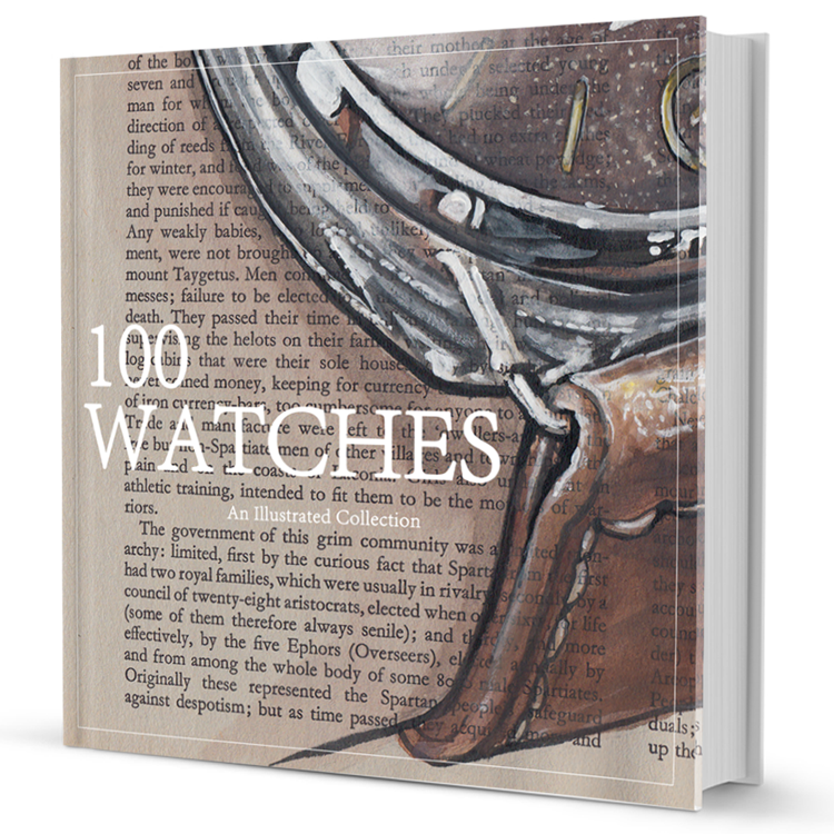 100 Watches Book Cover