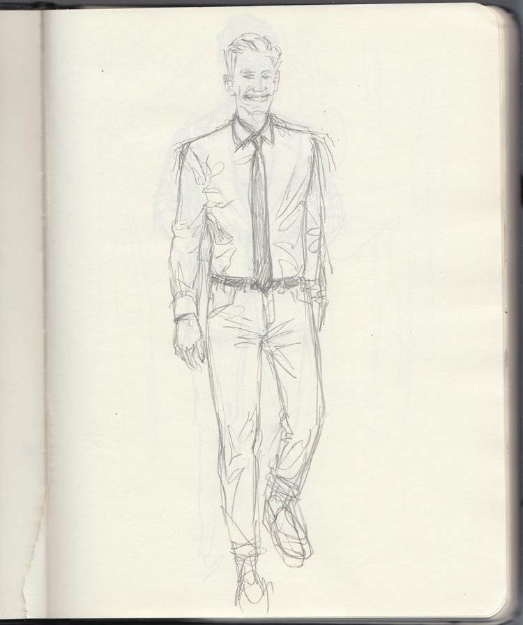 Sunflowerman Sketchbook pg. 29