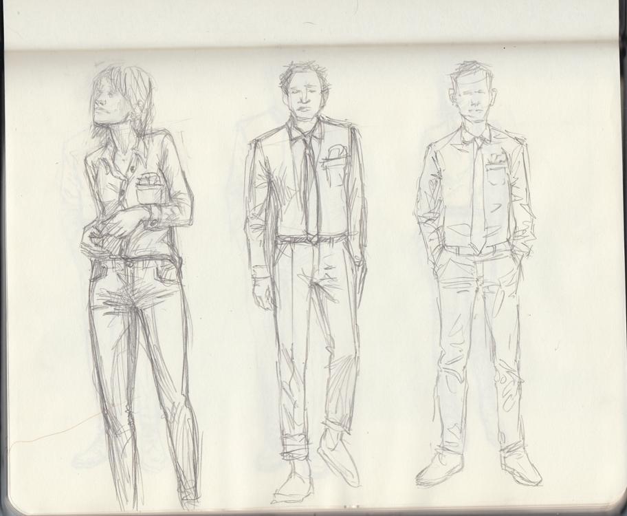 Sunflowerman Sketchbook pg. 16