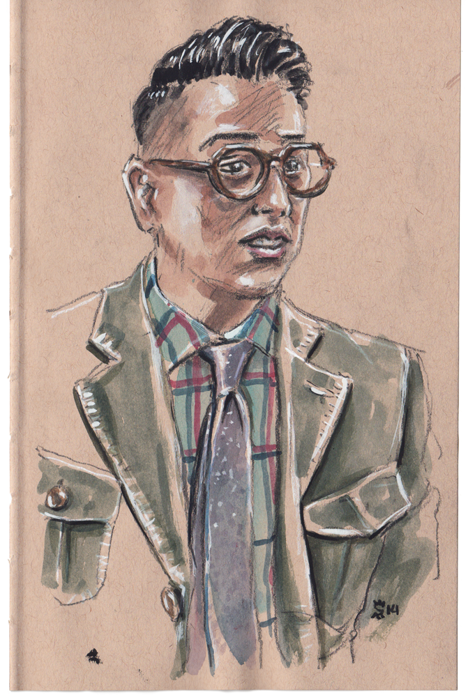 Blake Scott at Project Show illustration