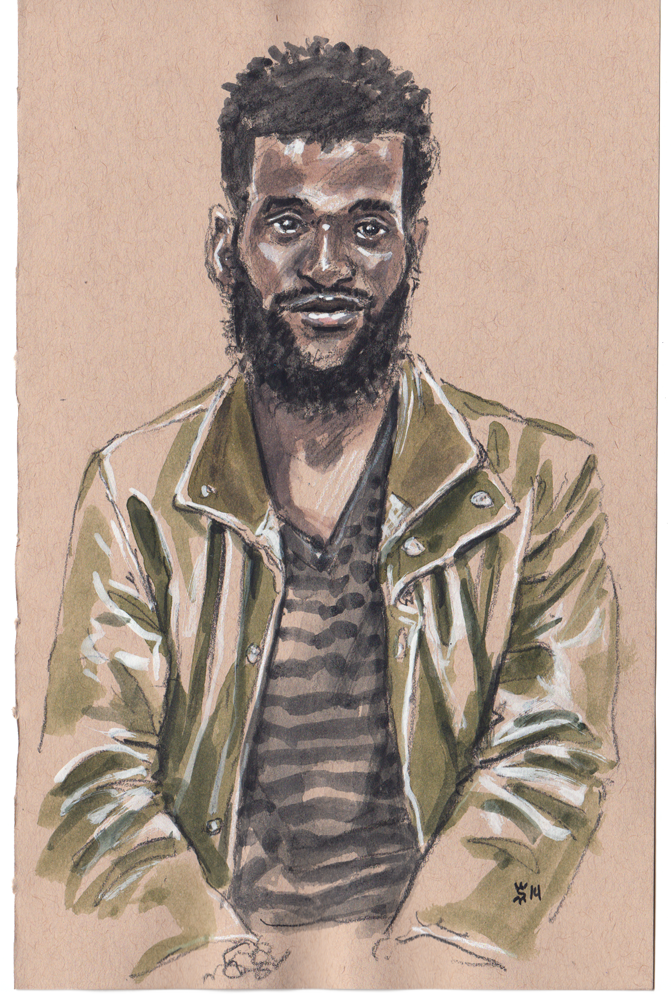 Thierry at Project Show illustration