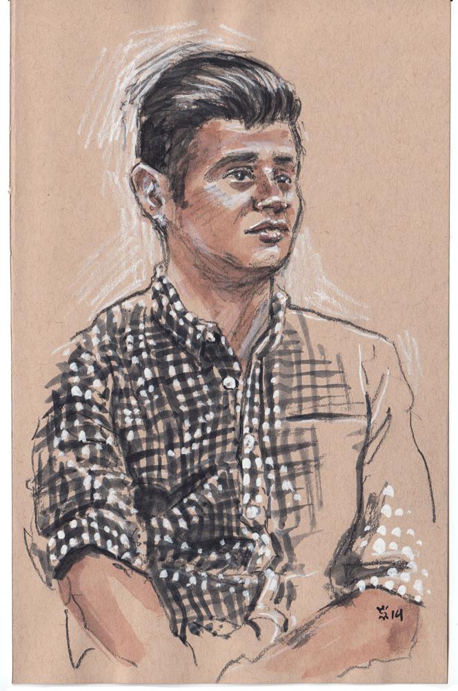Victor Macias at Project Show illustration