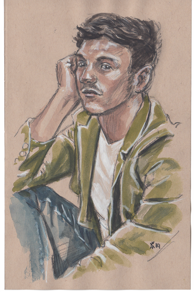 Justin Livingston at Project Show illustration