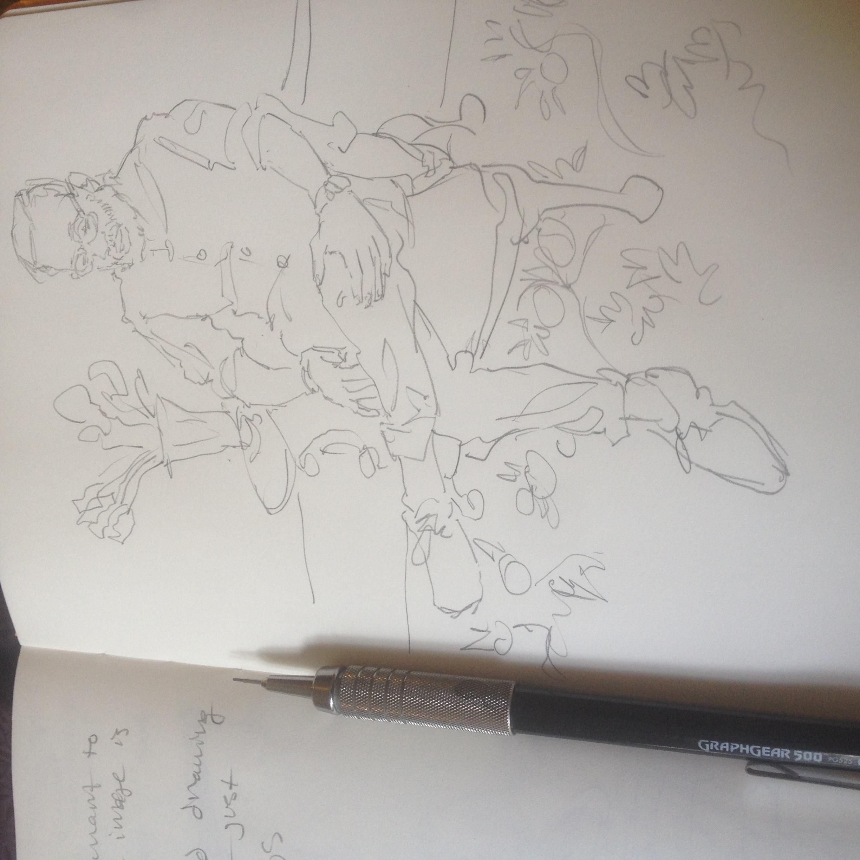 Nene Sketch at Billy Reid
