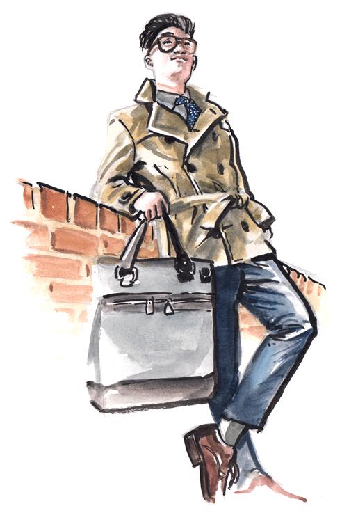 Daily Fashion Illustration Andrew Tria