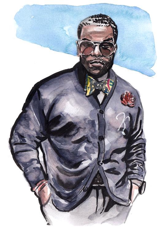 Daily Fashion Illustration Philipe Weeden