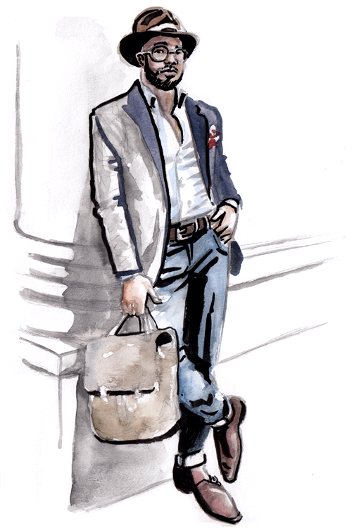 Daily Fashion Illustration Chad Patterson