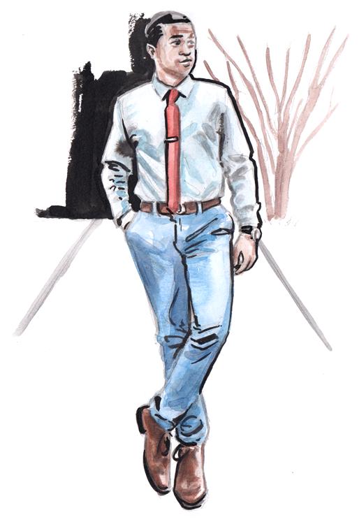 Daily Fashion Illustration Tyson Pradia