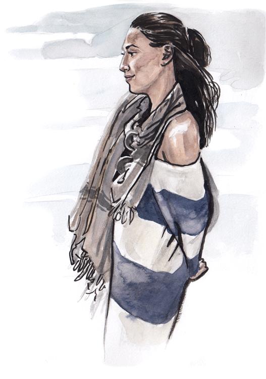 Daily Fashion Illustration Lisa Wang