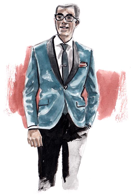 Daily Fashion Illustration Joshua D'Silva