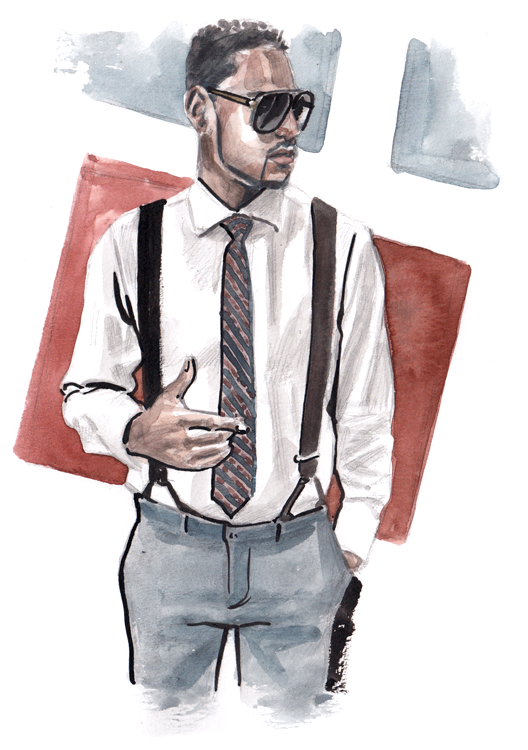 Daily Fashion Illustration Carly Jean-Lys